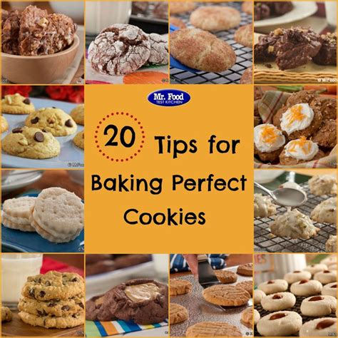 20 tips for baking perfect cookies mrfood com