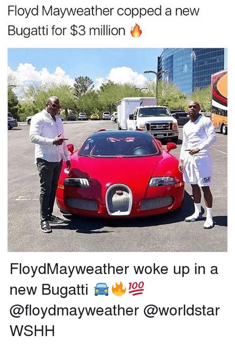 Floyd Mayweather Bugatti by Floyd Mayweather Copped A New Bugatti For 3 Million