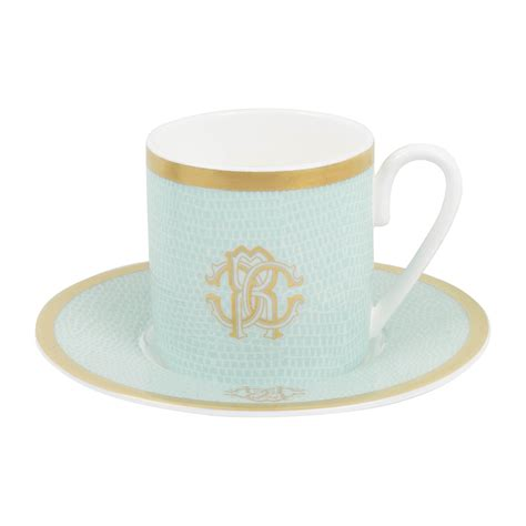 buy coffee cups buy roberto cavalli lizzard coffee cups saucers set of
