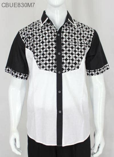 Stelan Anak Motif Batik Hitam Putih Berompi Size 80 120 kemeja batik pendek hitam putih kemeja lengan pendek murah batikunik