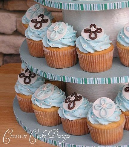 como decorar cupcakes para bautizo ideas para una fiesta de bautizo para ni 241 o cupcakes