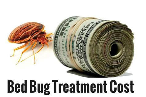 how much does an exterminator cost for bed bugs bed bug treatment cost