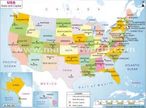 map of united states with capitals and cities usa states and cities map www proteckmachinery