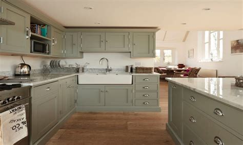 Grey Green Kitchen Cabinets Painted Kitchen Cabinets Color Ideas Grey Kitchen Designs Grey Green Painted Kitchen Cabinets