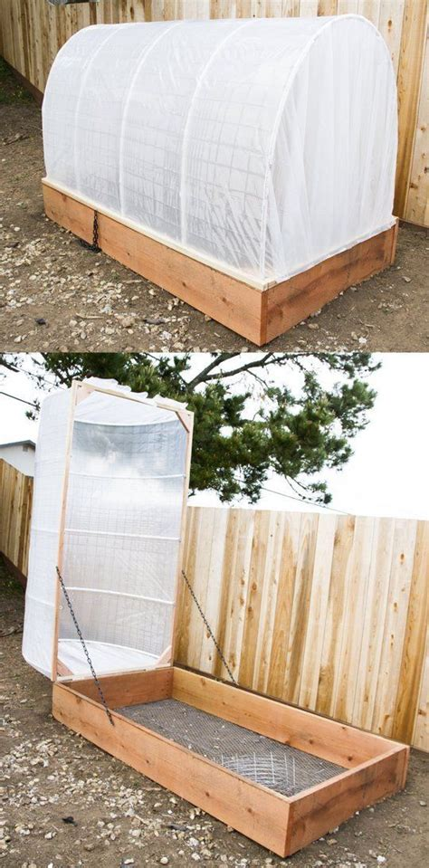raised garden bed covers diy covered greenhouse garden a removable cover solution