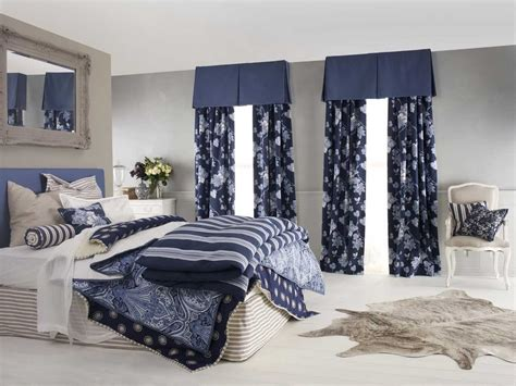 dark blue curtains bedroom blue bedroom curtain ideas decosee com