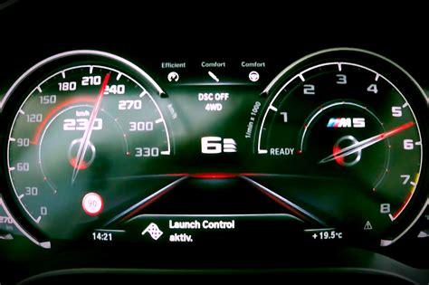 Beschleunigung Auto by Bmw M5 F90 Tacho Zeigt Beschleunigung 0 Auf 230 Km H