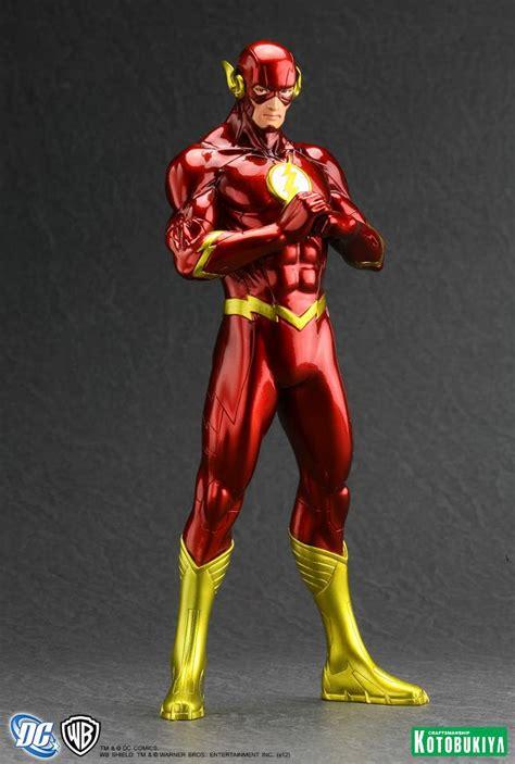 Flash New 52 new 52 justice league artfx by kotobukiya jmd retail