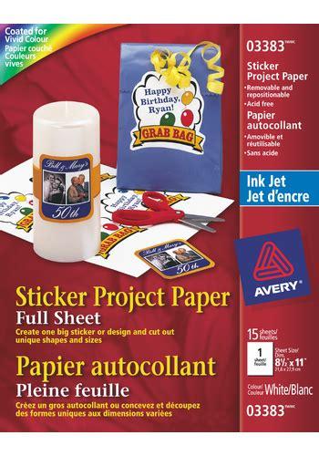 Avery Stickers