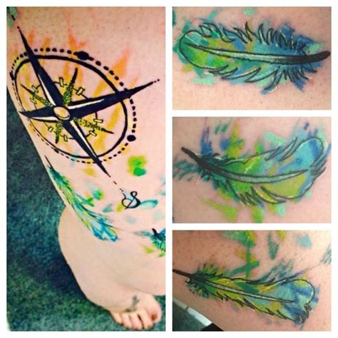 watercolor tattoos oregon best 25 pocahontas compass ideas on