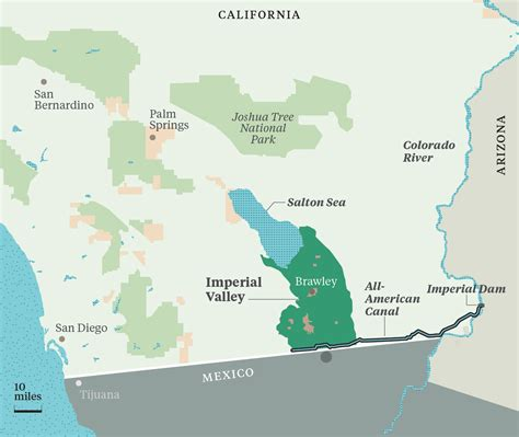 california map imperial valley the water barons of california s imperial valley