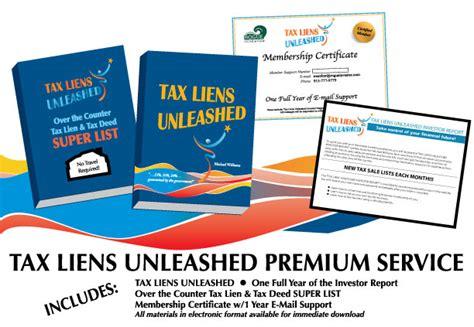 Tax Lien Records Property Tax Lien Search