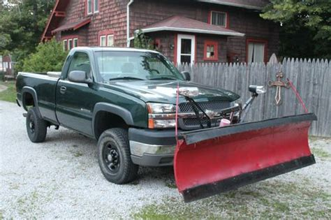 sell   chevy  hd plow truck  alliance ohio
