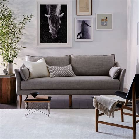 west elm antwerp sofa 76 sofa taylor easy connect upholstered 76 sofa in howell