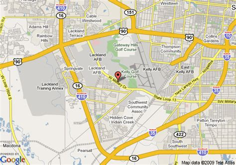 lackland texas map map of lackland travelodge san antonio