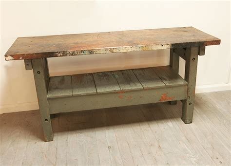 work bench base workbench with painted base haunt antiques for the