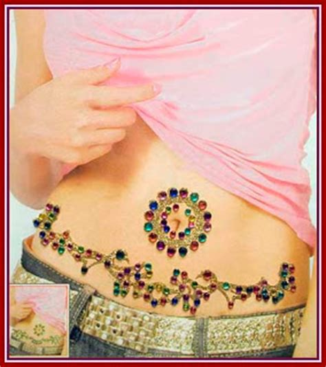 small belly button tattoos infinity designs belly button tattoos for