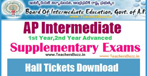 supplementary h s c result 2015 ap inter supplementary exams tickets 2017 for 1st