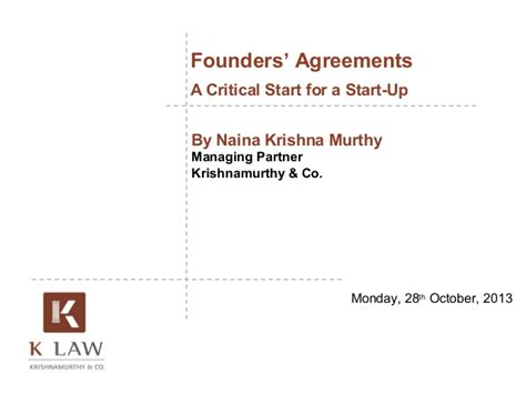 founders agreement template startup founders agreement a critical start for a start up