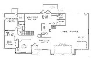 luxury home plans with basement luxury ranch house plans with walkout basement new basement good ranch floor plans with