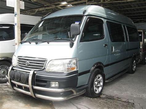 Toyota D4d Commuter Used Toyota Hiace Commuter 2 5 D4d Panel Vans Year 2006