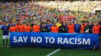 fussball le saynotoracism soccer politics the politics of football