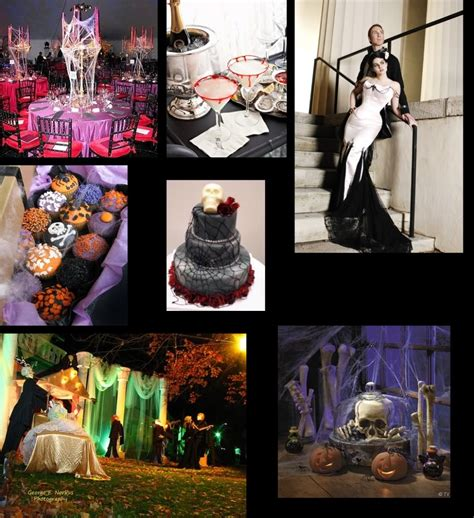 halloween themes wedding halloween themed wedding party cocktail party birthday