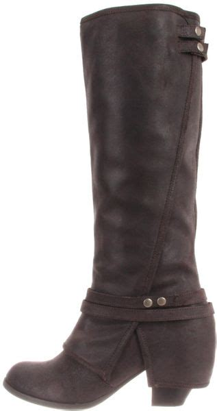 fergie boots fergie fergie womens latitude boot in black lyst