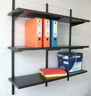 Adjustable Shelf Track by Twintrack Bracket Mastershelf