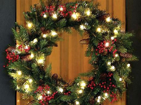 battery lights for wreaths wreath lights battery powered