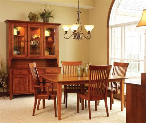 amish dining room set ann arden amish shaker dining set dining tables