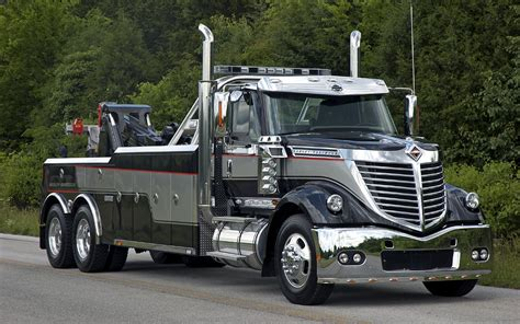 international semi wrecker tow truck page 7