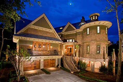 Custom Dream Home | dream home designs eclectic brick wall exterior custom