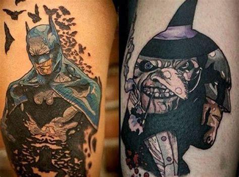 batman tattoo villain batman tattoos for men ideas and designs for guys