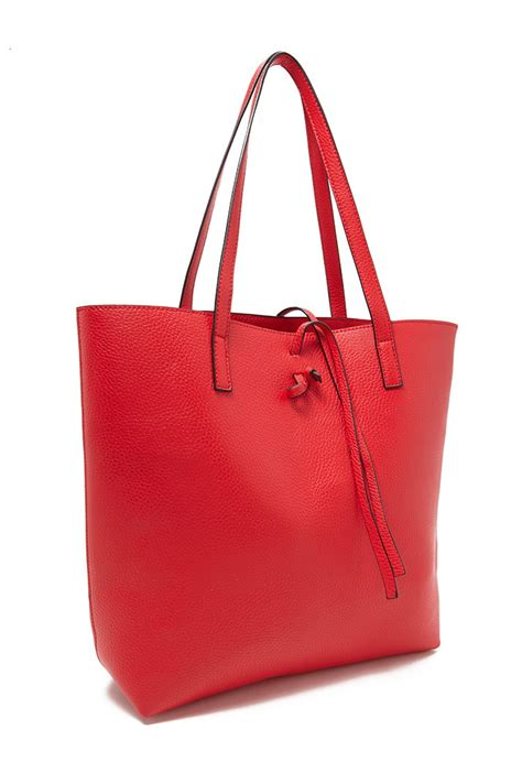 Handbags Wallets C 1 21 by Forever 21 Pebbled Faux Leather Tote In Lyst