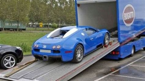 bugatti truck bugatti veyron for sale with matching transport truck