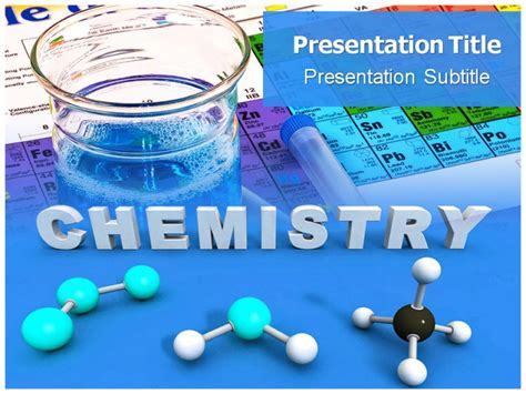 chemistry powerpoint template powerpoint presentation
