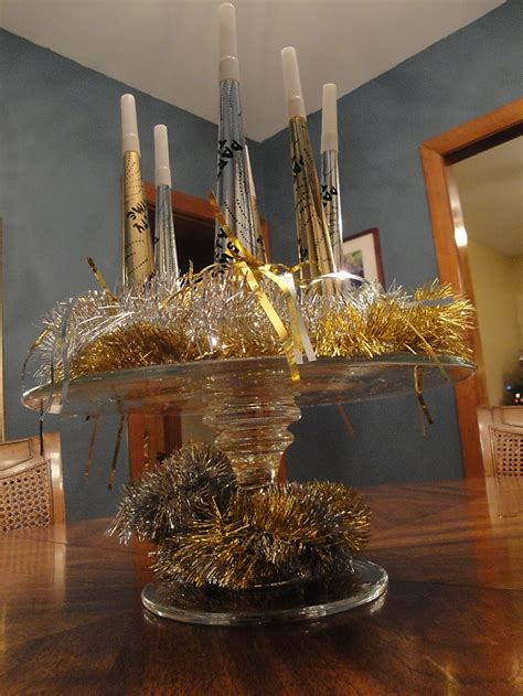 new year s centerpieces new years on new years bling