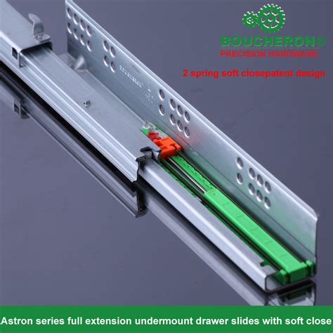 Undermount Self Closing Drawer Slides by As3116 Extension Undermount Drawer Slide Wiht 2