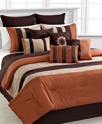 chocolate and burnt orange comforter set chocolate and burnt orange comforter set sets home design