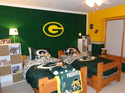 green bay packers bedroom green bay packers bedroom packers for mitch pinterest