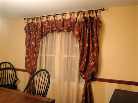 Dining Room Valances so many memories new dining room curtains