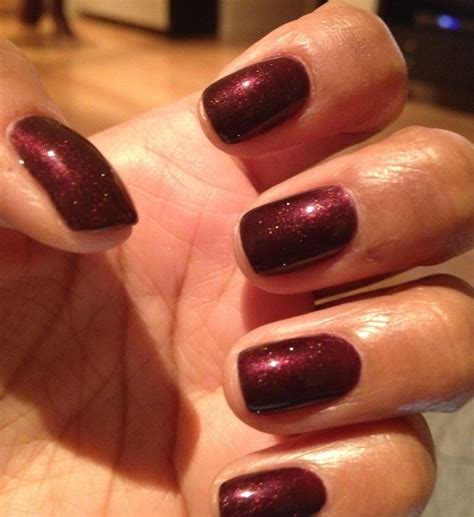 most popular shellac colors cnd shellac manicure in dark lava nail colour