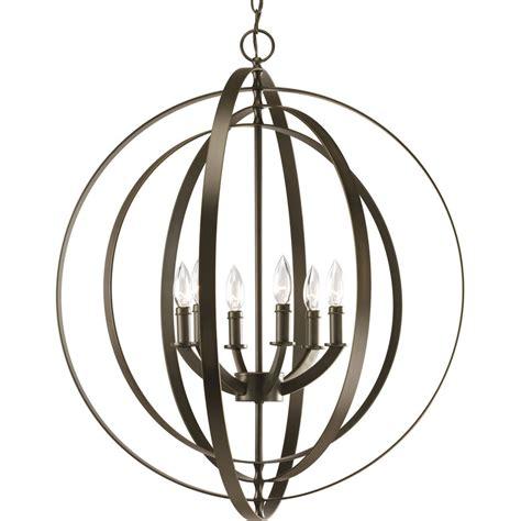 progress lighting chandelier shop progress lighting equinox 27 75 in 6 light antique