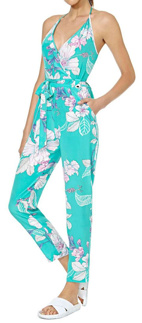 Floral Jumpsuit Premium Quality 131 best enterizos images on briefs maxi romper and bodysuit fashion
