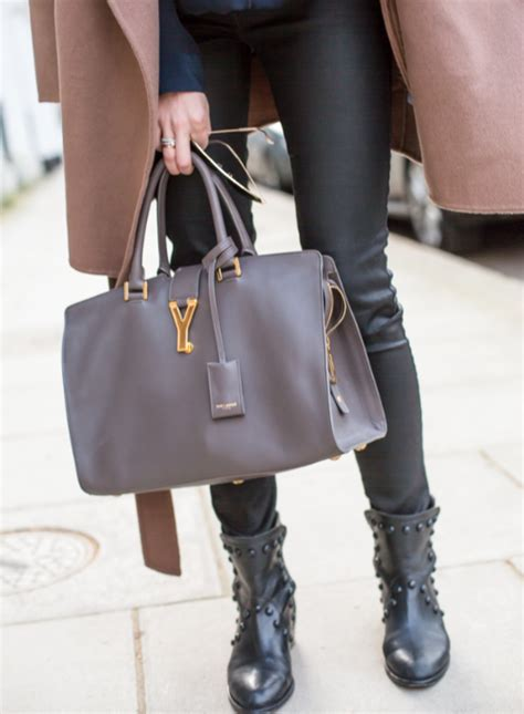 Kate Moss Ysl Downtown Tote by Breakfast With Kate Moss