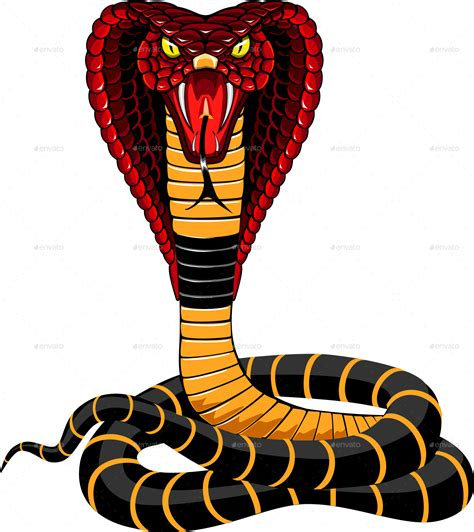 cobra snake illustration by ashmarka graphicriver