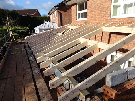Extension Roof Construction Single Storey Kitchen Extension Construction Diary Before