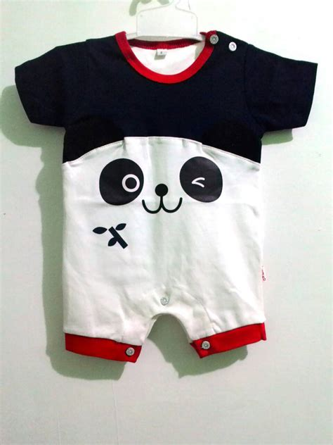 Kupluk Bayi Lucu Imut Bahan Halus Adem Karakter Puppy Buat Newborn jual jumper romper panda blue karakter lucu anak bayi keren baju anak diana shop