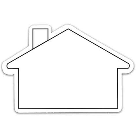 shape of house house shaped magnets custom magnets 0 29 ea